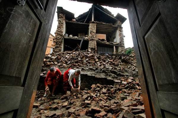 непал землетрясение5