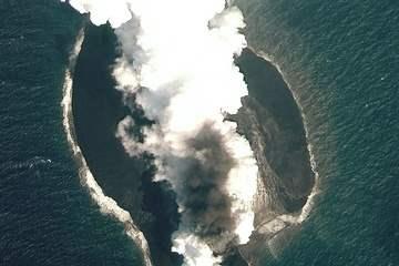 Два новых острова появились в Красном море