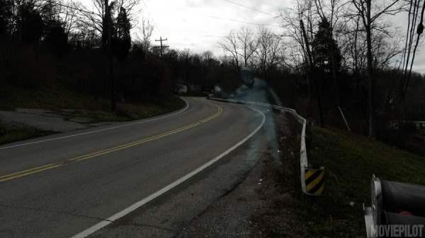 призрак на дороге2