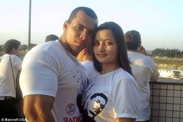 Качок с женой