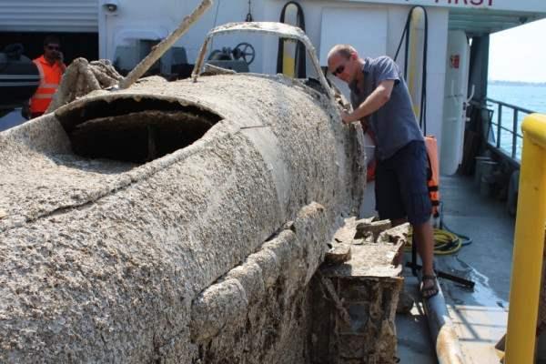 В Керченском проливе нашли Ил-2 (Фото)