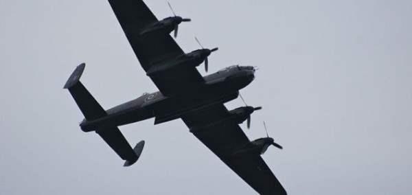 Самолет-призрак Второй мировой войны появился в небе Британии