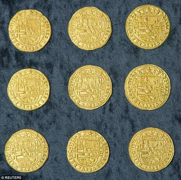 Редкие 9 монет, которые называли королевскими  эскудо.