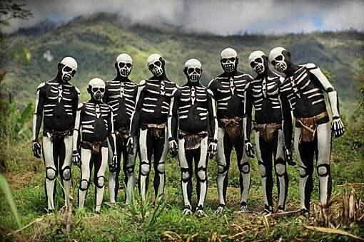 новая гвинея племена