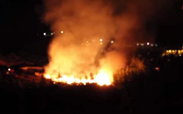 В Артеке бушевал сильный пожар, о котором пытаются скрыть. (Видео)