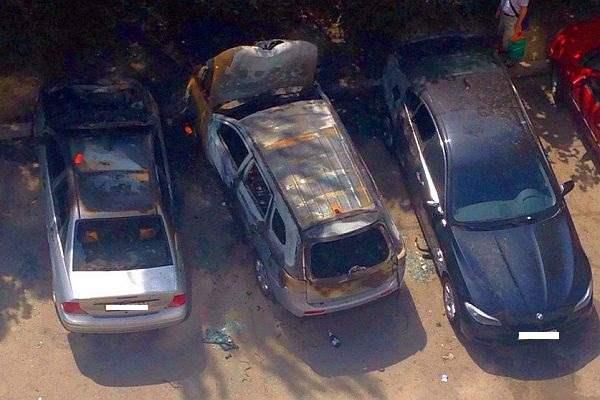 ростов авто спалили2