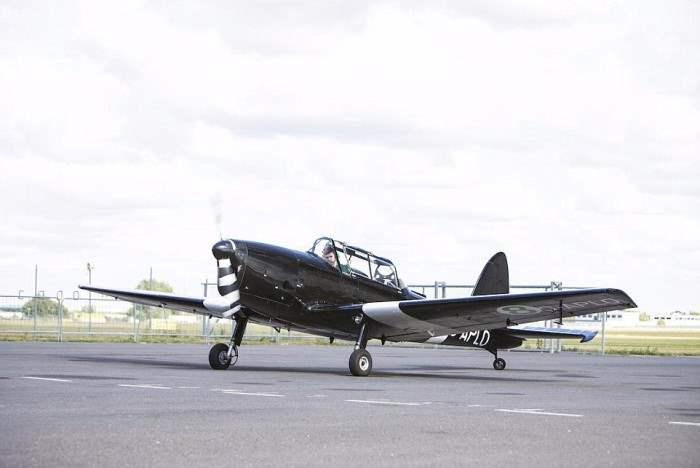 De Havilland Chipmunk, второе фото