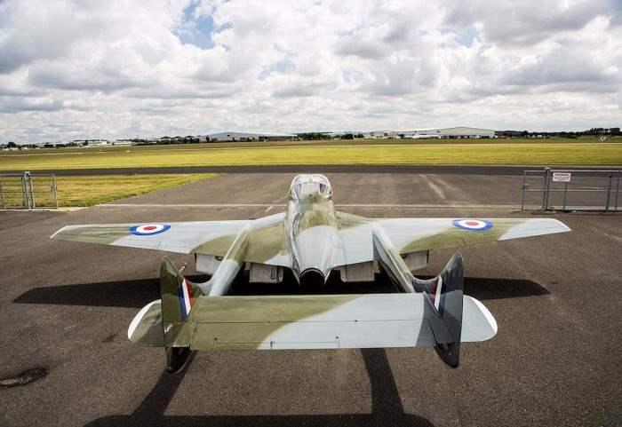 De Havilland Vampire T55, третье фото