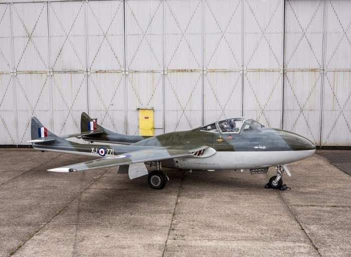 De Havilland Vampire T55, второе фото