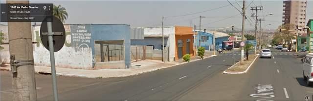 Место, где засняли оборотня на картах Google Street View