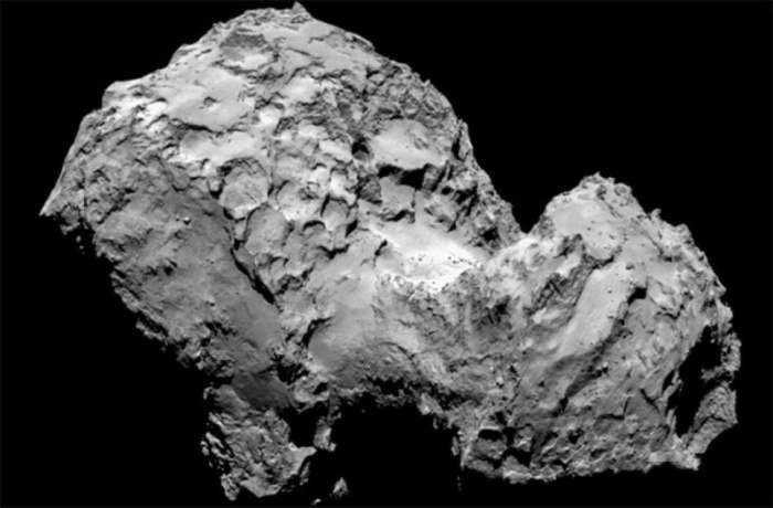 """Комета """"Чурюмова-Герасименко"""" целиком состоит из пыли и льда"""