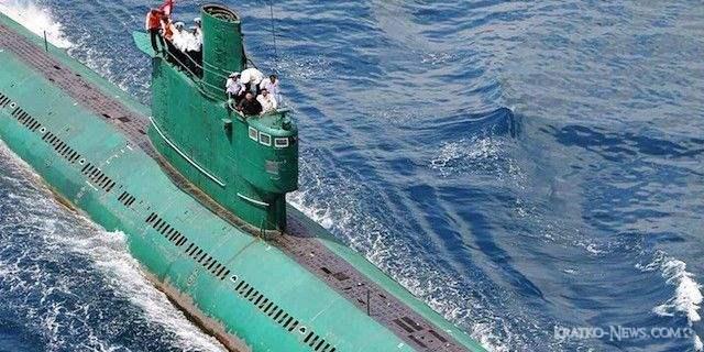 Северокорейская подводная лодка утонула ? США в панике.