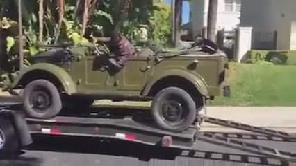 В США купили ГАЗ-69 (Видео)