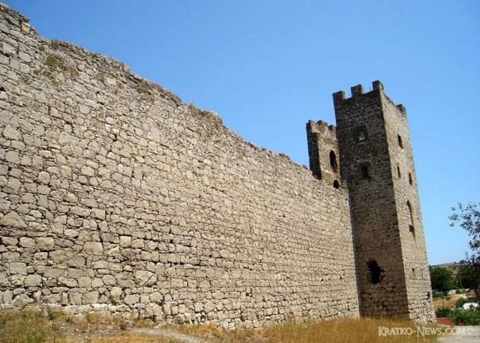 Крепость Кафа. Феодосия.