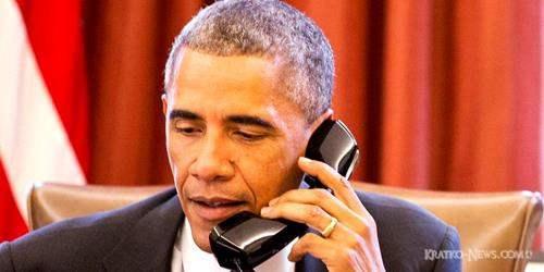 Украина и Сирия стали темой разговора Путина и Обамы