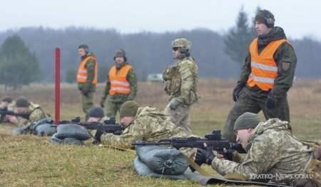На Яворовском полигоне Украины проходят учения