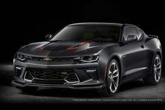 Chevrolet рассекретил юбилейную версию Camaro