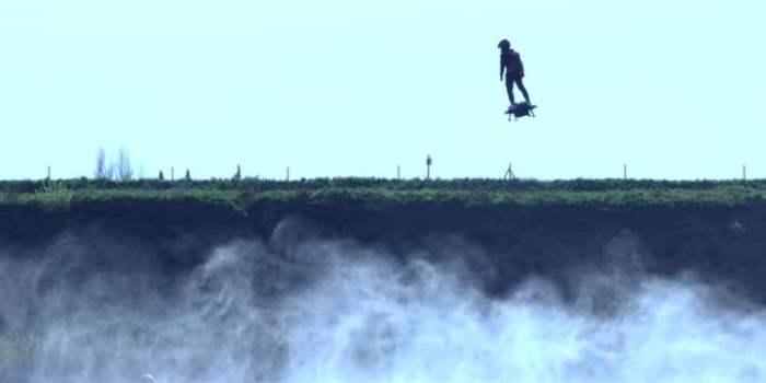 Летающая доска (Видео)
