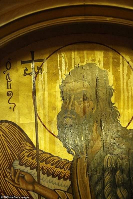 Целительная икона церкви Иллинойса.
