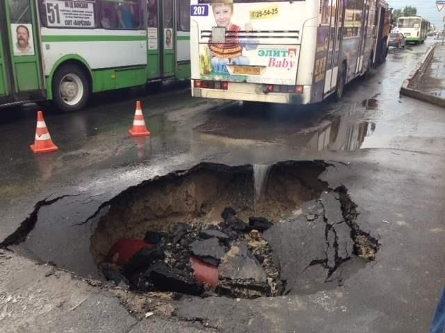 В Омске самые плохие дороги России