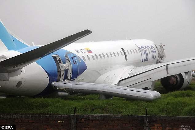 эквадор авиакатастрофа