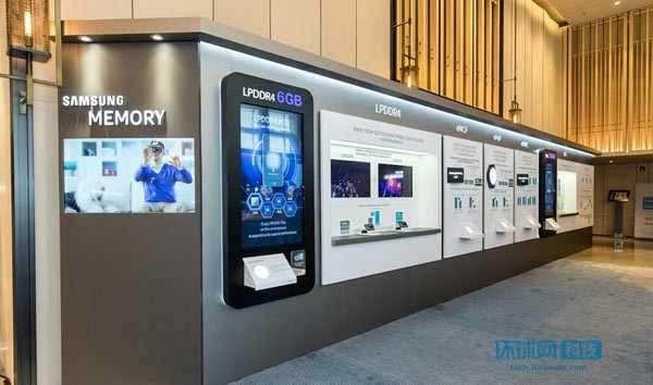 Samsung представила микросхемы памяти LPDDR4 DRAM объемом 6 ГБ, выпускаемые ...