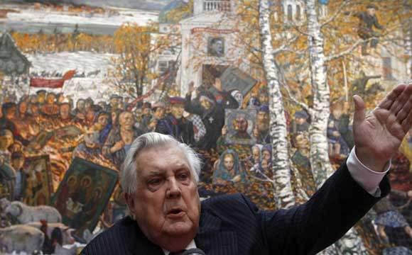 В Москве госпитализирован художник Илья Глазунов