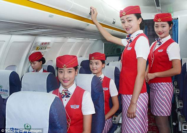 Китай стюардессы (3)