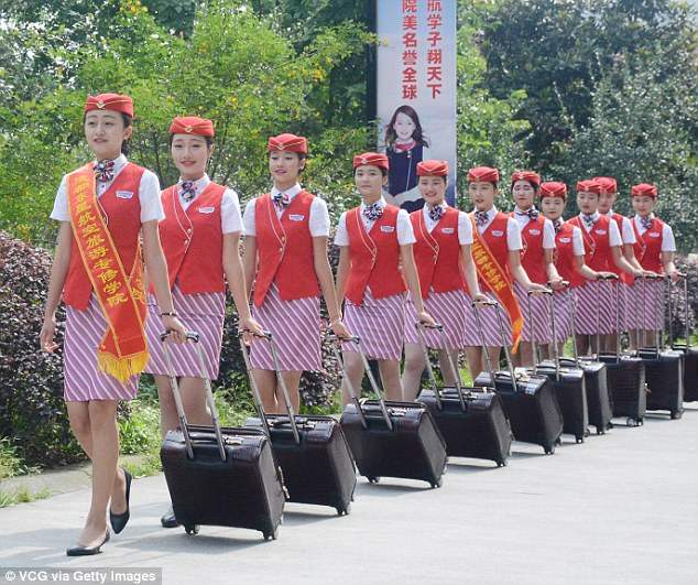 Китай стюардессы (7)