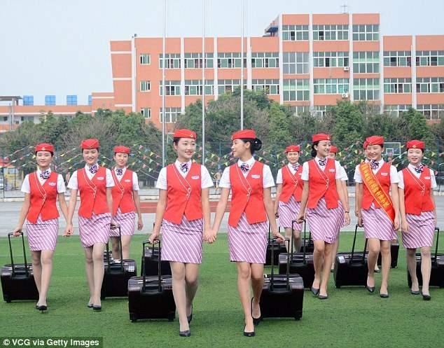 Китай стюардессы (8)
