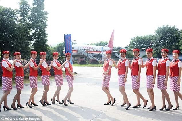 Китай стюардессы (9)