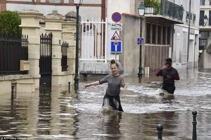 дожди франция