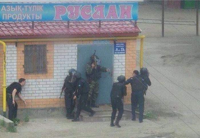 В Казахстане началась война ?
