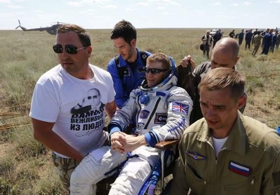 казахстан приземление космонавты (7)
