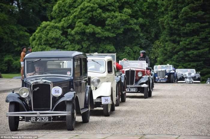 Автопробег классических авто в Британии (Фоторепортаж)