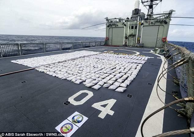 наркота на корабле