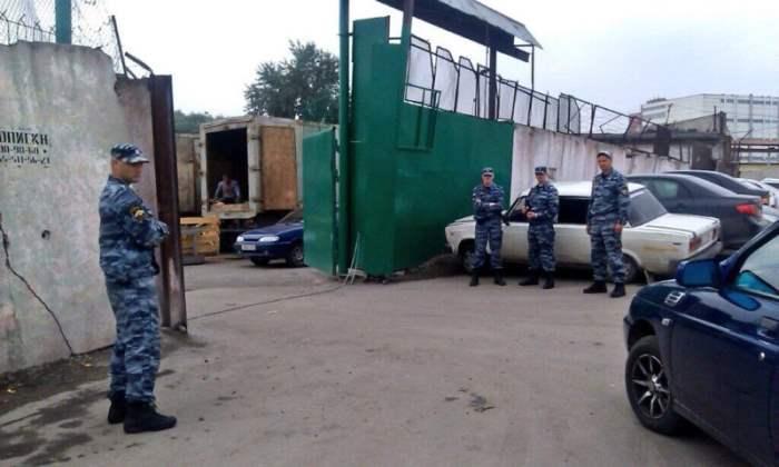 Софийскую овощебазу в Питере пытаются захватить рейдерским захватом