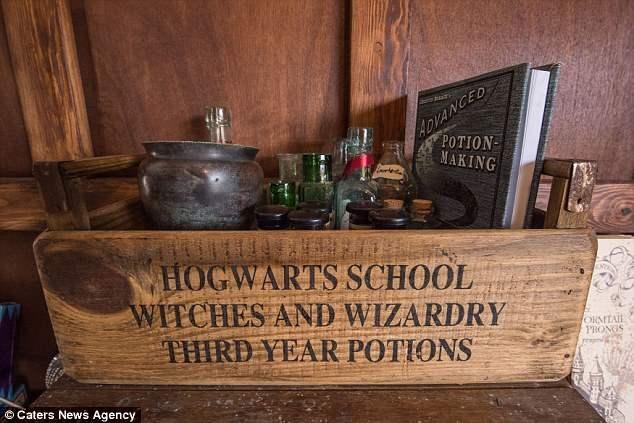 Построить школу Хогвартс дома за 13 000 ?