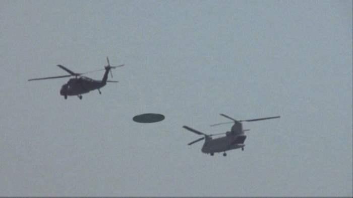 В США 7 вертолетов гонялись за НЛО по ночному небу