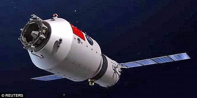 Китайская космическая станция Тяньгун-1 может рухнуть в центре Москвы