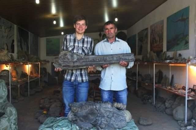 На раскопках в Дагестане найдены останки ихтонзавра