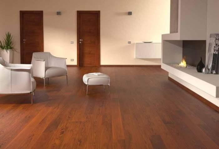 Дизайны комнат с ламинатом