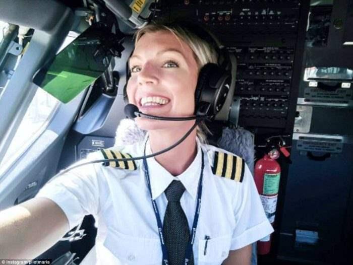 девушка пилот