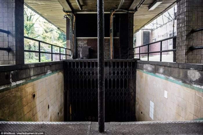заброшенная станция Лондон (12)