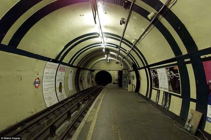 заброшенная станция Лондон (7)