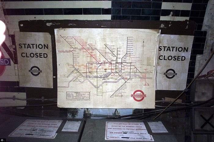 заброшенная станция Лондон (8)