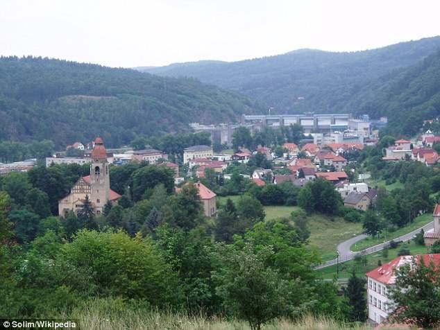 Štěchovice - Чешский городок, где идут поиски сокровищ СС