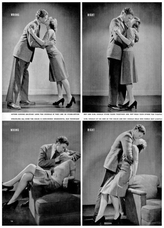 Поцелуи для чайников, LIFE Magazine, 1942.