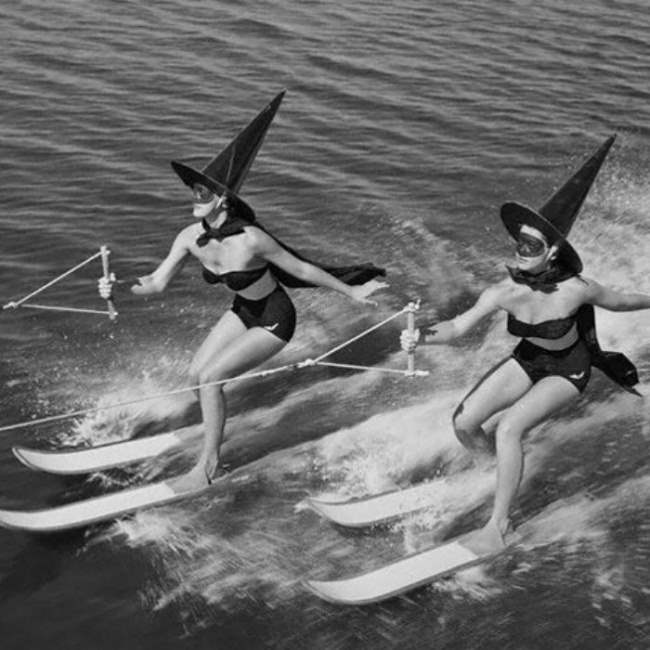 Хэллоуин, Флорида, США, 1954.