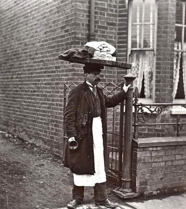 Булочник, Лондон, 1910.